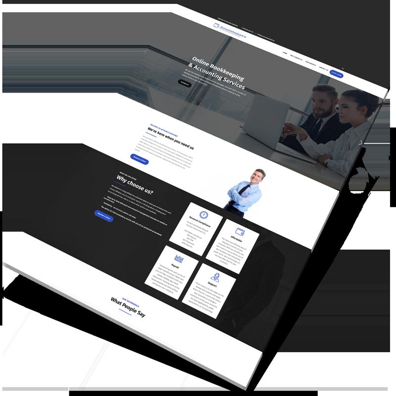 accountant website design ireland