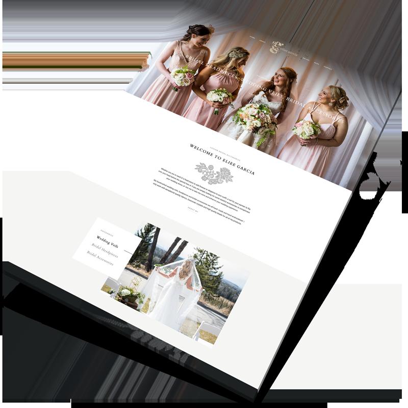 bridal website design ireland