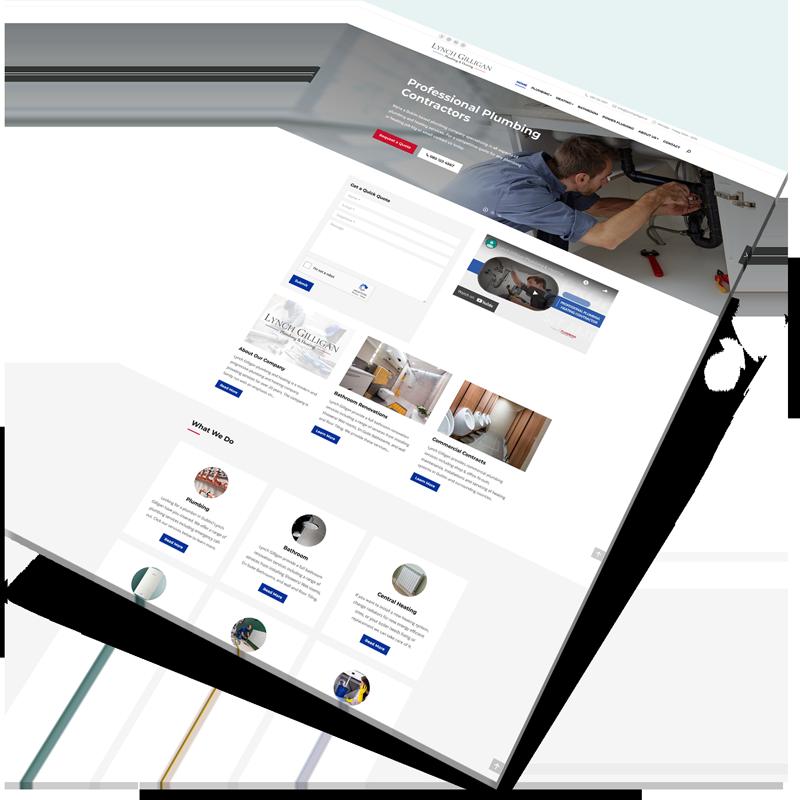 plumber website design ireland