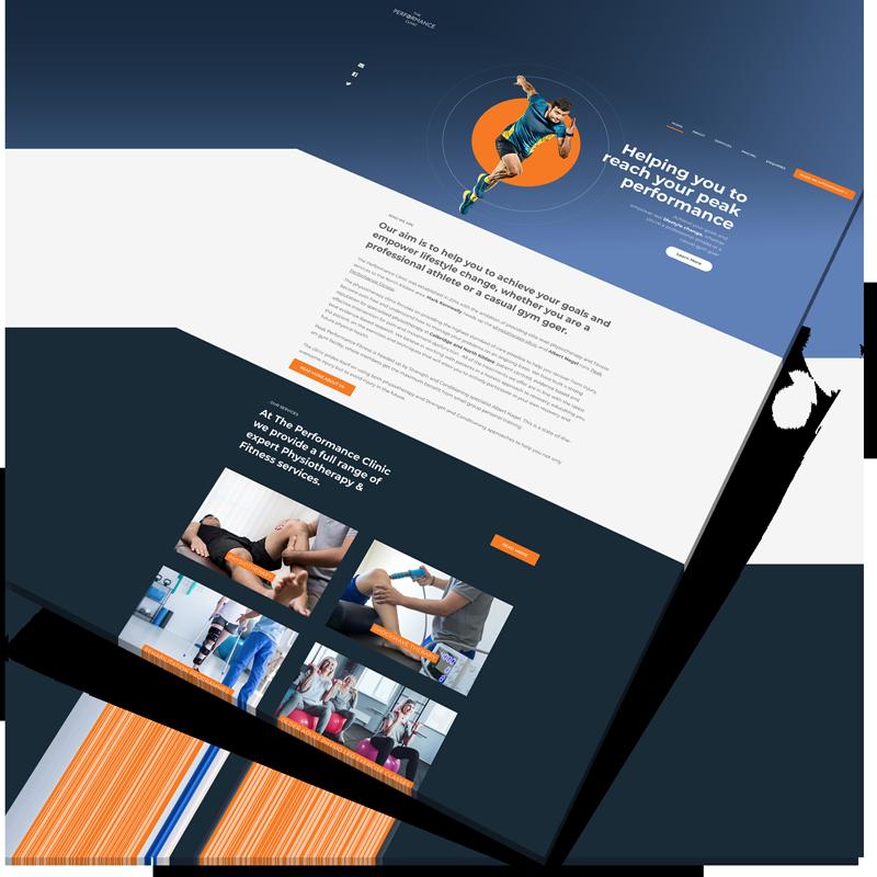 gym website design ireland